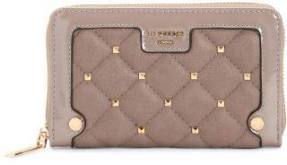 Studded Zip Around Wallet
