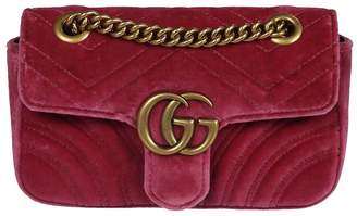 Gucci Gg Marmont Quilted Mini Shoulder Bag