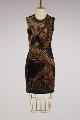 Balmain Embroidered short dress