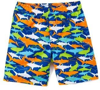 6fd4e3b3173e4 Trunks Freestyle Revolution Ombre Shark Swim Trunk (Toddler and Infant Boys)