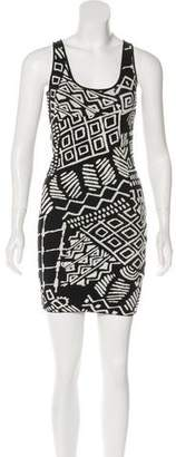 Torn By Ronny Kobo 798 Abstract Print Bodycon Dress