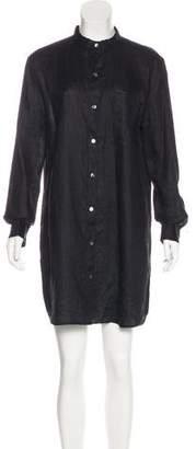 Frame Linen Mini Dress