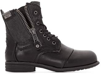 Bunker Sara Zip-Up Ankle Boots