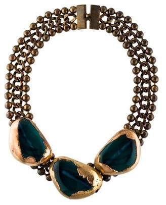 Marni Resin Collar Necklace