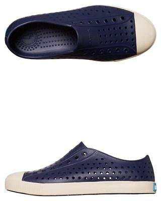 Native New Boys Kids Jefferson Shoe Rubber Blue 6