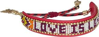 Rebecca Minkoff Women's Love is Love Seed Bead Bracelet