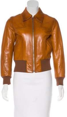 Prada 2017 Leather Jacket