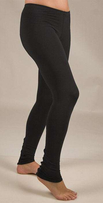 Splendid Button Leggings in Black