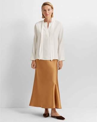 Club Monaco Long Bias Slip Skirt