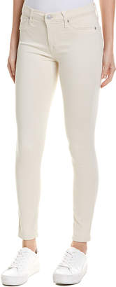 Hudson Jeans Natalie Faded Yellow Ankle Skinny Leg