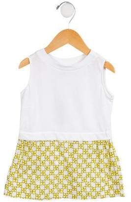 Marni Junior Girls' Sleeveless Abstract Dress w/ Tags