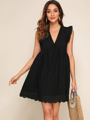 Deep Armhole Dress Shopstyle