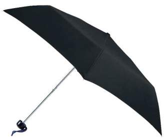 totes Plain Black Mini Umbrella (3 Section)