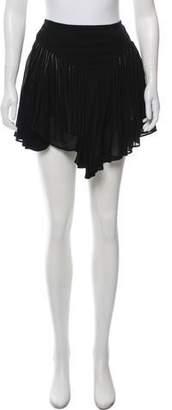Barbara Bui Crepe Mini Skirt
