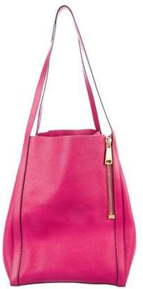 VBH Textured Leather Zip Tote