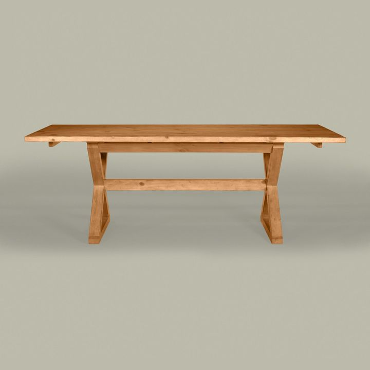 Ethan Allen American artisan x-table