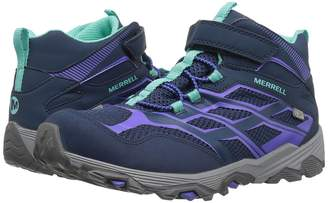 Merrell Moab FST Mid A/C Waterproof Girls Shoes