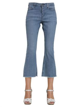 MICHAEL Michael Kors Flare Cropped Jeans