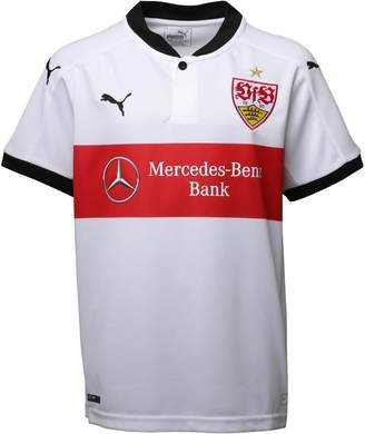 Puma Junior Boys VFB Stuttgart Home Shirt White/Black