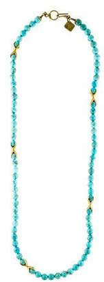 Ashley Pittman Roho Dyed Howlite Necklace