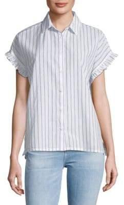 Pancho Striped Cotton Button-Down Shirt