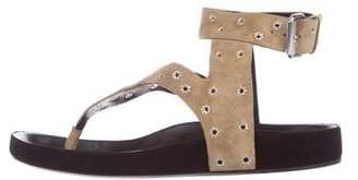 Isabel Marant Eyelet T-Strap Sandals w/ Tags