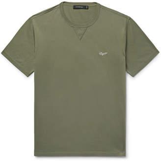 Ermenegildo Zegna Logo-Embroidered Cotton-Jersey T-Shirt