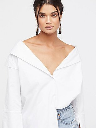 Solid Off The Shoulder by Style Mafia at Free People $105 thestylecure.com