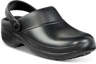 Easy Street Shoes Easy Works by Time Slip Resistant Clogs Women's Shoes