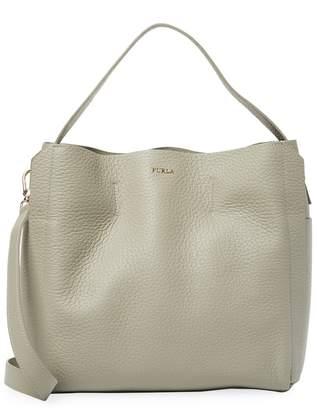 Furla Women's Capriccio Leather Hobo Bag