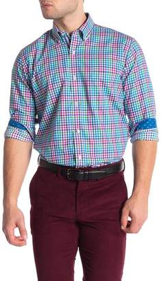 Tailorbyrd Checkered Long Sleeve Shirt (Big & Tall)