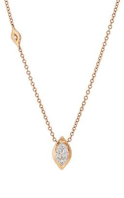 Sara Weinstock Women's Reverie Marquis Necklace - Rose