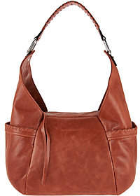 Nobrand NO BRAND Aimee Kestenberg Vintage Leather Triple EntryHobo- Laredo