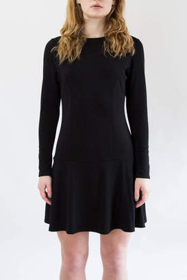 Veronica M Black Flare Dress