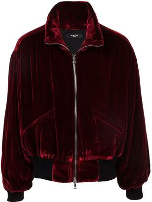 Amiri high-collar bomber jacket