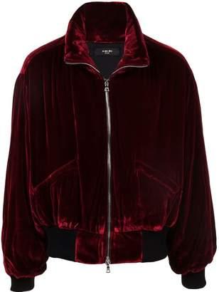 Amiri high-collar bomber jacket