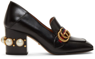 Gucci Black Pearl Peyton Heels