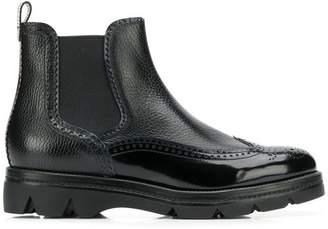 Santoni derby style boots