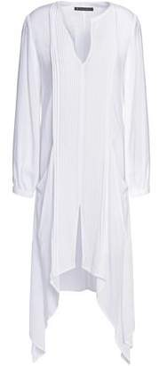 Vix Paula Hermanny Pintucked Voile Coverup