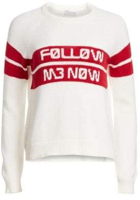 RED Valentino Follow Me Now Knit Sweater