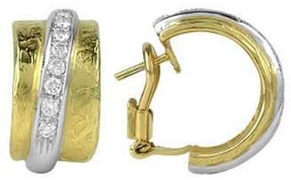 Torrini Nancy - 18K Yellow Gold and Diamond Earrings