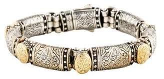 Konstantino Two-Tone Oval Link Bracelet