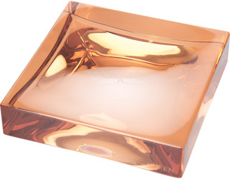 Kartell Square Soap Dish - Nude Pink