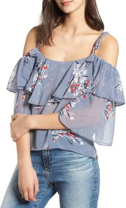 MISA Los Angeles Zyneb Cold Shoulder Top