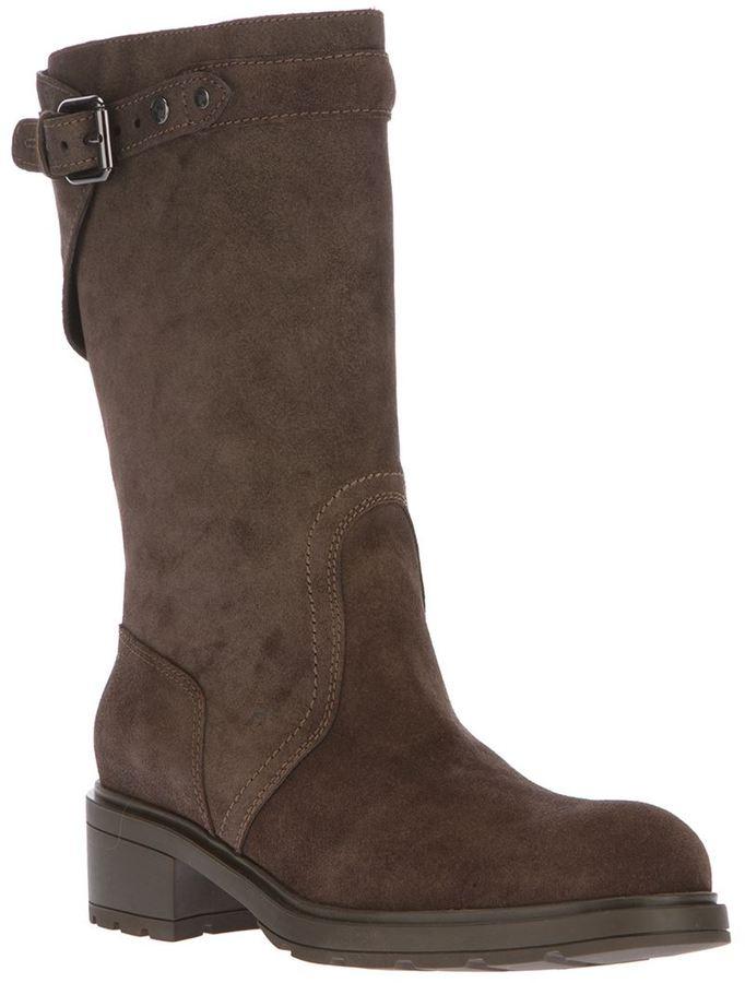 Hogan mid-calf boot