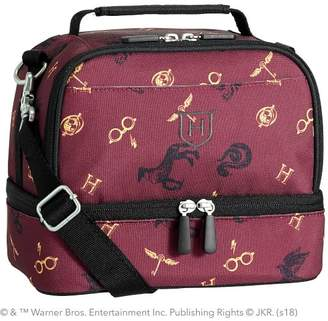 Pottery Barn Teen Gear-Up HARRY POTTER & Mascot Dual Compartment Lunch Bag