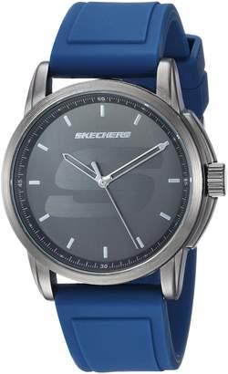 Skechers Men's Quartz Metal and Rubber Casual Watch, Color: (Model: SR5113)