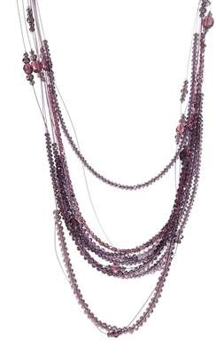 Fabiana Filippi Vera Multistrand Glass Bead Necklace