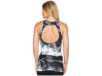 New Balance Printed Open Back Tank Top Women's Sleeveless