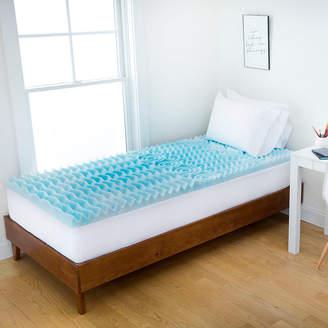 AUTHENTIC COMFORT 2 Comfort Rx 5-Zone Foam Dorm Mattress Topper by Authentic Comfort